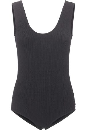 Bottega Veneta Retro Low Cut One Piece Swimsuit