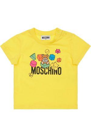 Moschino Girls T-shirts - Toy Print Cotton Jersey T-shirt