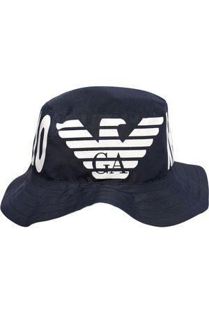 Emporio Armani Reversible Logo Print Hat