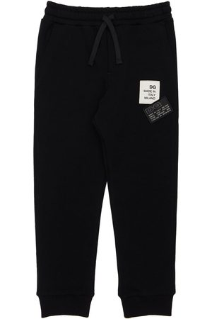 Dolce & Gabbana Girls Sweatpants - Cotton Sweatpants