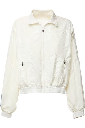 McQ Women Jackets - Fantasma Nylon Track Jacket