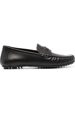 VERSACE Medusa penny loafers