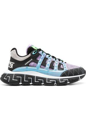 VERSACE Men Sneakers - Trigreca panelled sneakers