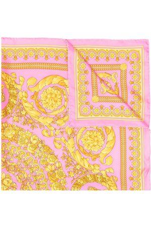 VERSACE Scarves - Baroque-print scarf
