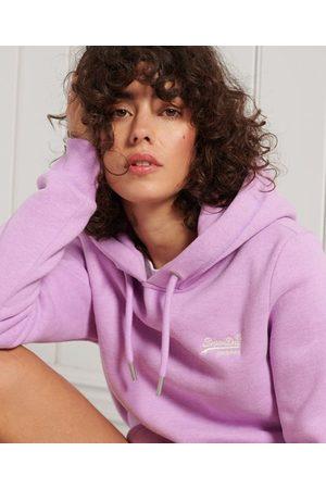 Superdry Women Hoodies - Orange Label Classic Hoodie