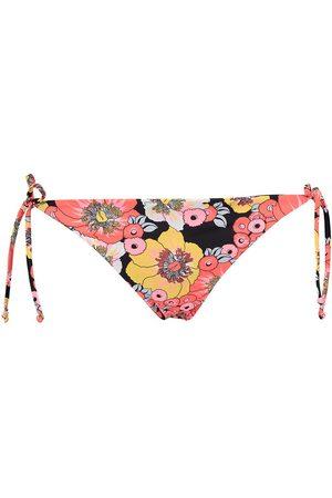 Billabong Women Swimwear - S.s Tie Side Tropic Bottom M Flowers