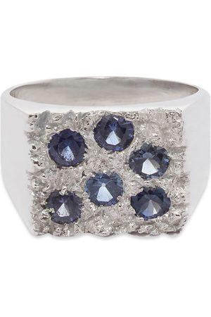 Bleue Burnham Grand Rose Garden Signet Ring