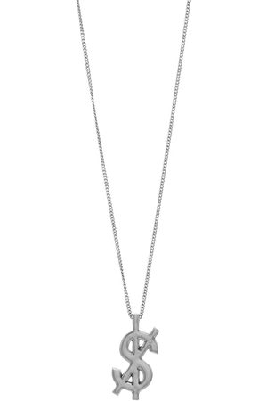 KSUBI Cross Dollar Necklace