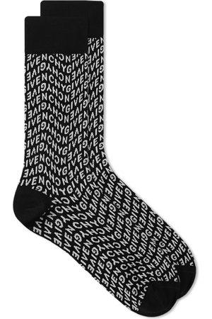 Givenchy Refracted Logo Sock