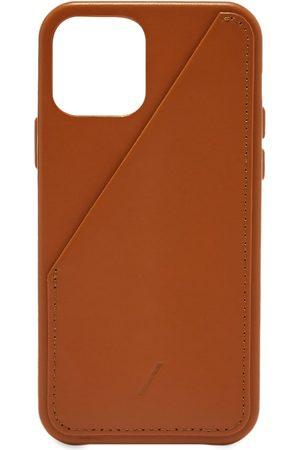 Native Union Clic Card Leather iPhone 12 Mini Case