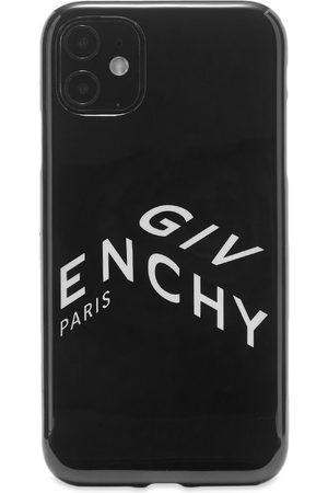 Givenchy Men Phones Cases - Refracted Logo iPhone XI Case