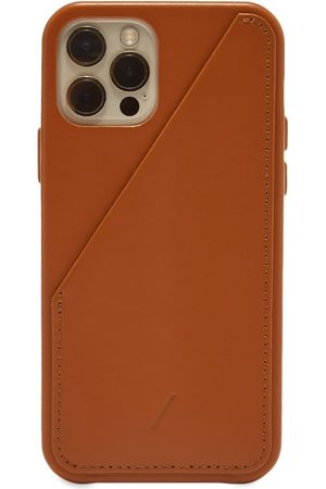 Native Union Clic Card Leather iPhone 12/12 Pro Case