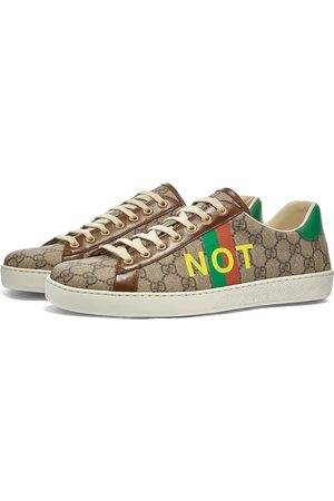 Gucci Men Sneakers - New Ace Fake Not Jacquard Sneaker