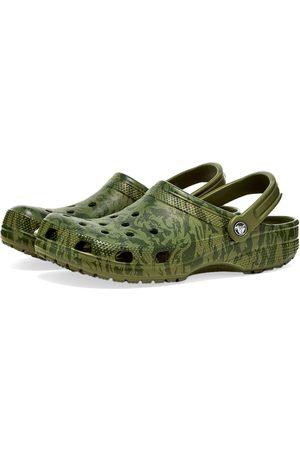 Crocs Men Clogs - Classic Printed Camo Clog