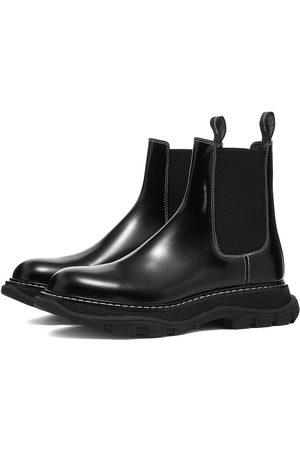 Alexander McQueen Tread Leather Chelsea Boot