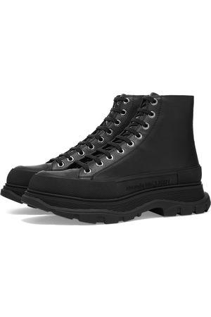 Alexander McQueen Small Stud Heel Tab Wedge Sole Sneaker