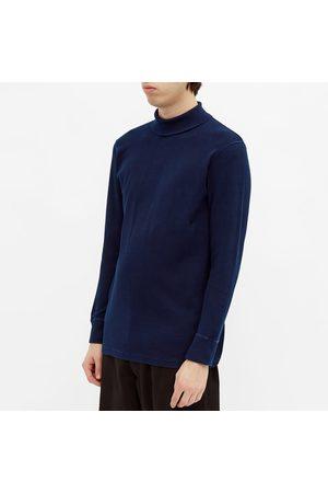 BLUE BLUE JAPAN Long Sleeve Roll Neck Tee