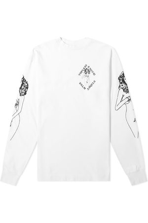 Palm Angels Long Sleeve Exotic Print Tee