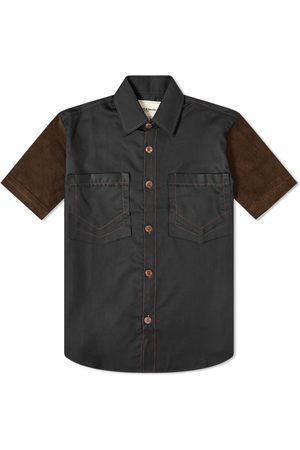 Youths in Balaclava Short Sleeve Pocket Shirt