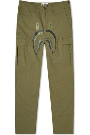 AAPE BY A BATHING APE Men Cargo Pants - Shark 6 Pocket Pant