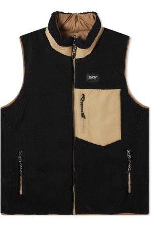 Taion Reversible Fleece Down Vest