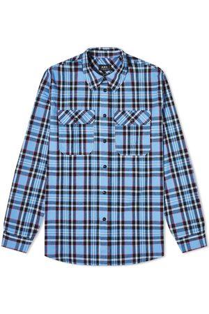 A.P.C. Marceau Check Overshirt