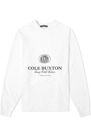 Cole Buxton Long Sleeve Crest Logo Tee