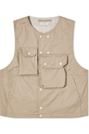 ENGINEERED GARMENTS Men Tank Tops - Twill Cover Vest