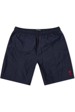 Ami Heart Logo Long Swim Short