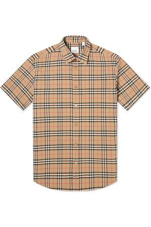 Burberry Short Sleeve Simpson Check Shirt