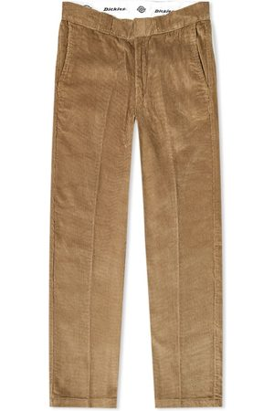 Dickies Men Skinny Pants - Fort Polk Slim Straight Corduroy Pant