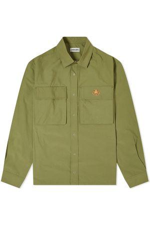 Kenzo Tiger Crest Pocket Overshirt