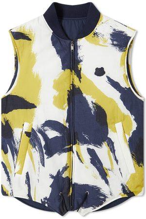 Kenzo Men Gilets - Reversible Quilted Camo Vest