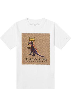 Coach Men T-shirts - X Basquiat Rexy Tee