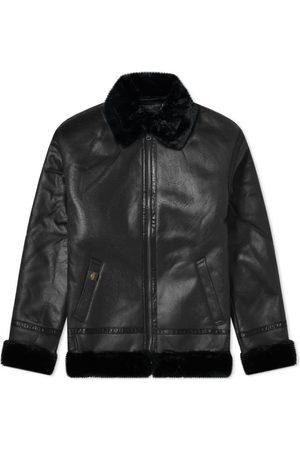 alpha industries B3 Faux Leather Flight Jacket
