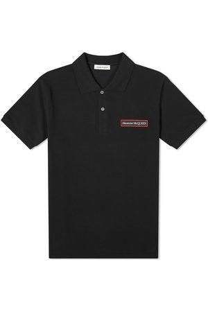 Alexander McQueen Men Polo Shirts - Logo Patch Polo