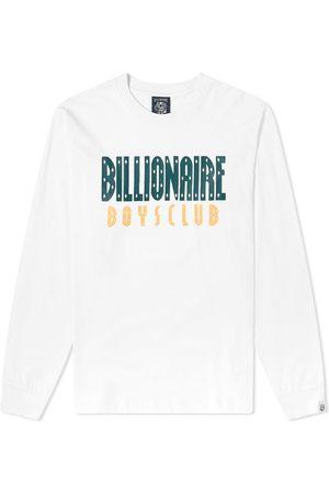 Billionaire Boys Club Long Sleeve Straight Logo Tee