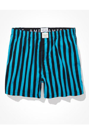 American Eagle Outfitters Men O Striped Stretch Boxer Short Men's XS