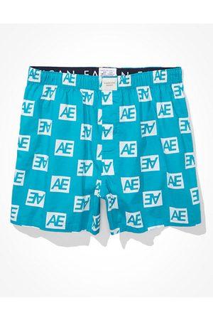 American Eagle Outfitters Men O Logo Stretch Boxer Short Men's XS
