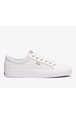 Keds Women Sneakers - Jump Kick Perf Leather , Size 6m Women's Shoes