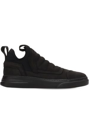 BRUNO BORDESE Dreamer Washed Leather High Top Sneakers