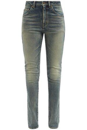 Saint Laurent High-rise Skinny-leg Jeans - Womens - Denim