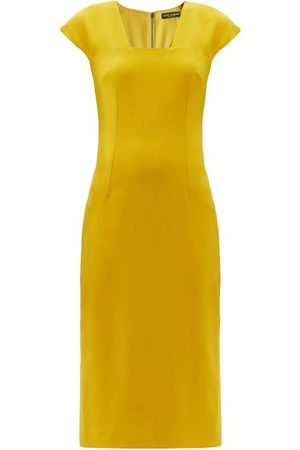 Dolce & Gabbana Tailored Crepe Pencil Dress - Womens