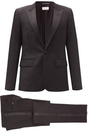 Saint Laurent Single-breasted Wool-crepe Suit - Mens