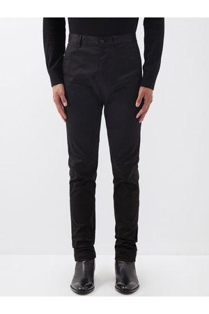 Saint Laurent Slim-leg Cotton-twill Chinos - Mens