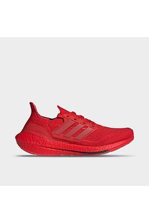 adidas Men Running - Men's UltraBOOST 21 Running Shoes in /Vivid