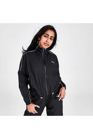 PUMA Women's Evide Dark Dream Track Jacket in / Size X-Small 100% Nylon