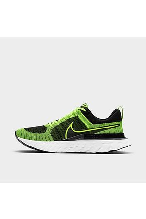 Nike Men's React Infinity Run Flyknit 2 Running Shoes in /Volt Size 7.0