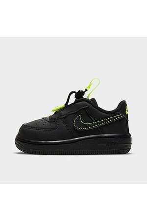 Nike Casual Shoes - Kids' Toddler Air Force 1 Toggle Casual Shoes in / Size 4.0 Leather/Nylon