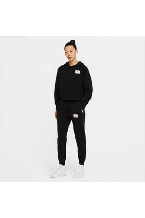 Nike Women Pants - Jordan Women's Flight Fleece Jogger Pants in / Size X-Small Cotton/Polyester/Fleece